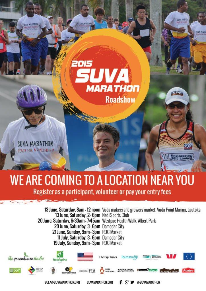 Suva Marathon Road Show