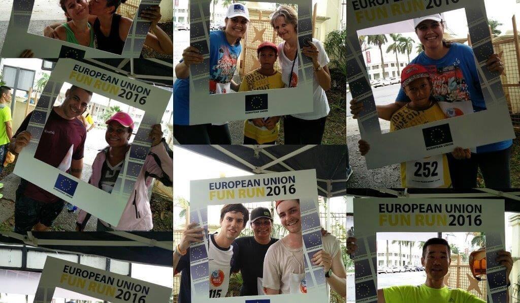 Selfies ~ EU Fun Run 2016 ~ 2 July 2016