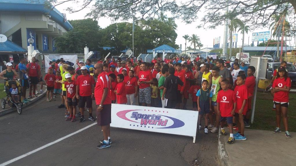 SportsWorld Hibiscus Festival Fun Run 2016