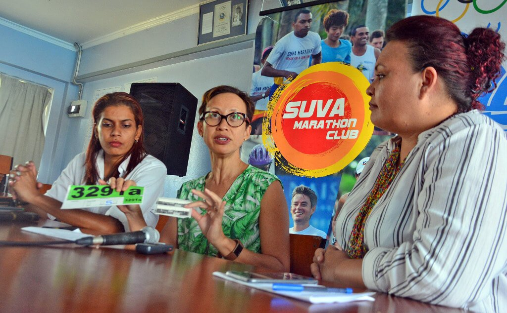 Suva Marathon Club introduces new electronic my lap timing chip