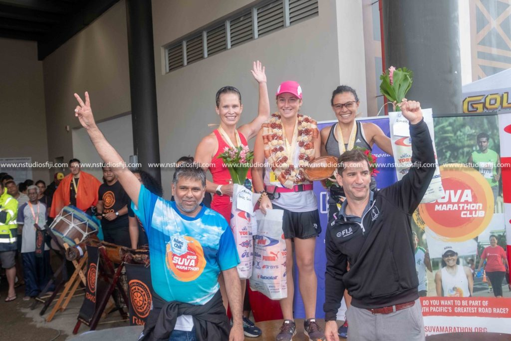 Provisional Winners at the Island Chill Suva Marathon 2019