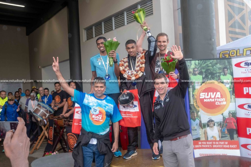 ional Winners at the Island Chill Suva Marathon 2019